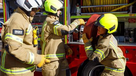 Recruitment drive planned next month in the East End. Picture: LFB