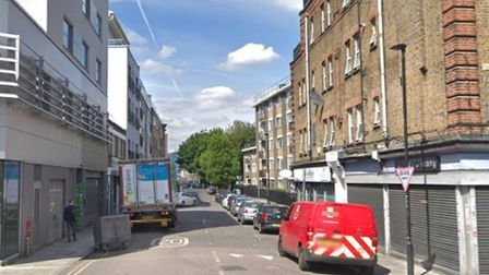 Nelson Street... where Juli Begum was found with her two children, little sisters Anika and Thanha,
