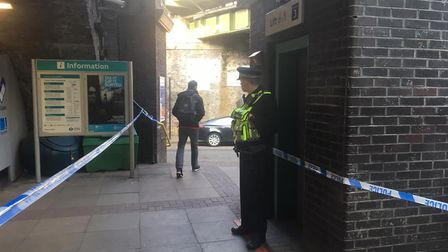 British Transport Police at the station. No arrests have been made but enquiries are ongoing. Pictur