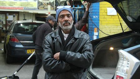 Motor tyre trader Mohammed Monnan served notice to quit his Bethnal Green railway arch after 24 year