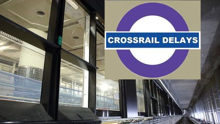Whitechapel Crossrail platform... up to three years' delay opening, like rest of Crossrail. Picture: