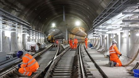 """Crossrail... """"The London taxpayer will have to foot the bill until its completion."""" Picture: Mike Br"""