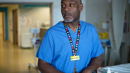 """Royal London trauma surgeon Martin Griffiths... """"Patients don't just need sewing up... they need sup"""