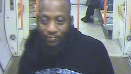 Police would like to speak to this man. Picture: BTP