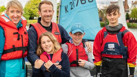 Sailing clubs and training centres across London welcomed visitors to �Push the Boat Out� and try sa