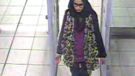 Shamima Begum. Picture: Met Police