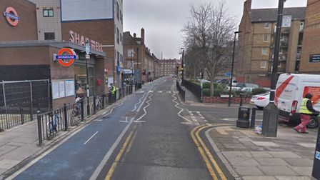 Cable Street in Shadwell. Picture: Google