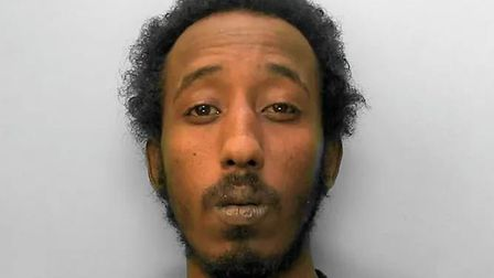 Mahad Hussein has been jailed for 13 years for raping a woman. Picture: Sussex Police