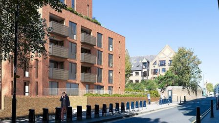 How the development at Reardon Street and Wapping Lane will look. Pic LBTH