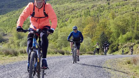 Volunteers head for the hills of the Brecon Beacons good causes. Picture: Taylor Wimpey