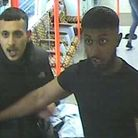 Police would like to speak to these men. Picture: BTP