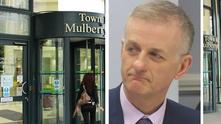 """Cllr David Edgar... """"We won't hesitate to take action against rogue operators."""" Picture: Mike Brooke"""