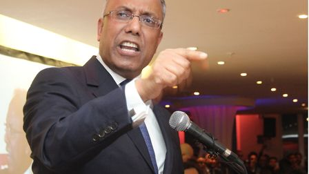 Lutfur Rahman... the mayor brought down by election petitioner Andy Erlam.Picture: Mike Brooke