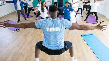 New Bow community hub opens to help keep people fitter. Picture: Kois Miah