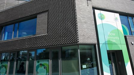 Bromley-by-Bow's new community hub. Picture: Kois Miah