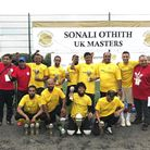 Weavers Football Club have been crowned Sonali Othith Masters champions. Picture: Weavers FC