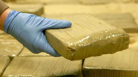 A stock image of a seizure of heroin. Picture: PA