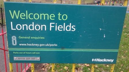 Extinction Rebellion are holding a range of events in and around London Fields this weekend. Picture