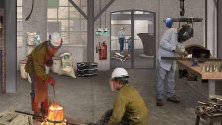 How developers see the future of Whitechapel bell foundry. Picture: Raycliff Capital