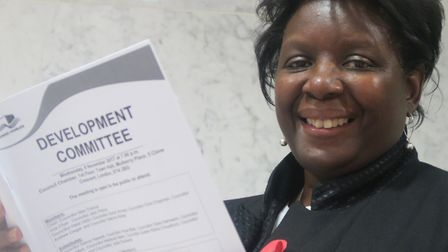 Alicia Joseph... campaigner who previously got the council to reject the tower block three times, on