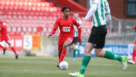 Leyton Orient left-back Jayden Sweeney produced another accomplished display against Blyth Spartans