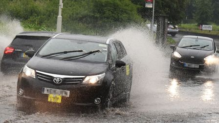 A yellow weather warning has been issued by the Met Office. Picture: Ken Mears