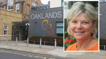 Head teacher Patrice Canavan... hoping to welcome Raine's pupils to Oaklands Secondary. Picture: Mik
