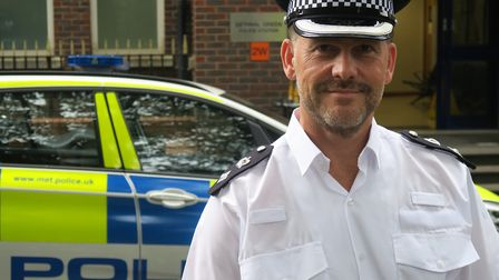 """Borough commander Marcus Barnett... """"I want to treat people with dignity and respect as human beings"""