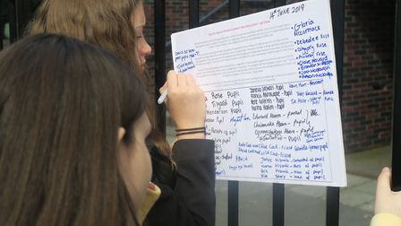 Pupils start their own petition to stop the East End's oldest school, Raine's Foundation, being clos
