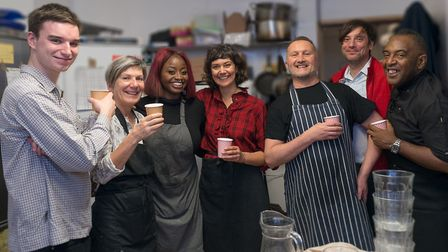 The cafe holds more than 50 community events. Picture: Teresa Hayhurst