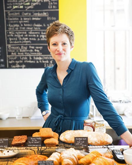 Ruth Rogers of The Canvas Cafe. Picture: Felix Clay