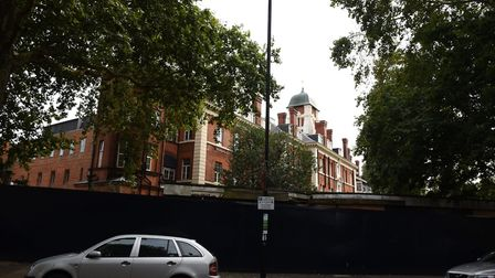 The London Chest Hospital in Bethnal Green which is due for demolition.