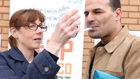 NHS annual campaign with Tower Hamlets Council to persuade the public to give up smoking, the bigges