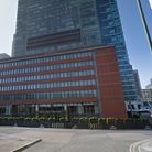Canary Wharf where fraudster Zhaker Darvesh duped victims wanting to rent flats in Hertsmere Road ou