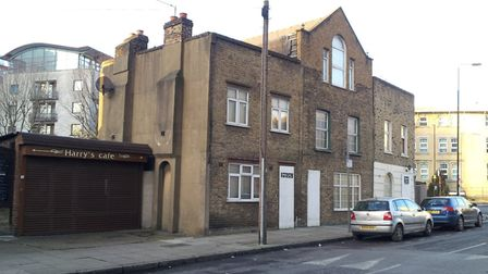 The Victorian cottages in East Ferry Road. Picture: LBTH
