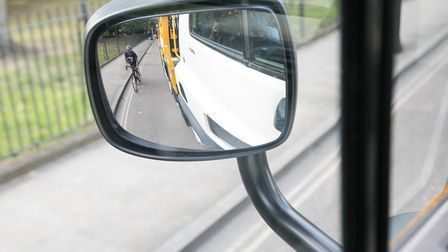 HGV drivers now get clearer picture of cyclists coming up on the kerb side. Picture: Kois Miah