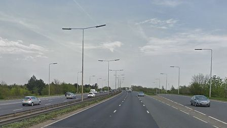 Police are appealing for witnesses to the incident on the Thurrock section of the A13 to come forwar