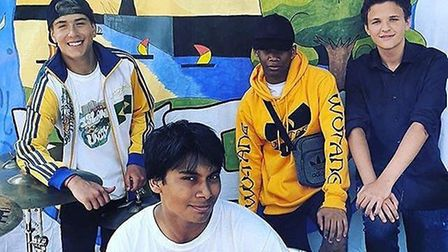 Young people at the Island Unity Festival. Picture: Jean Consolmagno.