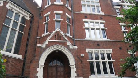 Raine's Foundation... East End's oldest school founded for the poor in 1719 originally in Wapping by