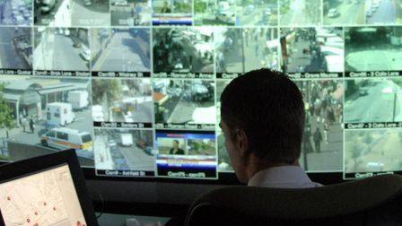 Council CCTV used to track drug dealers on the streets of London's East End. Picture: LBTH
