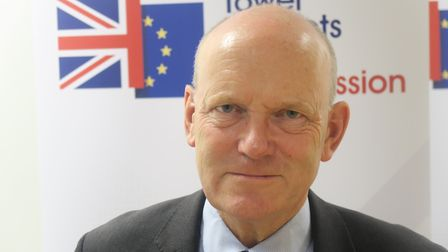 Tower Hamlets mayor John Biggs at the launch of the borough's Brexit Commission in September 2018. P