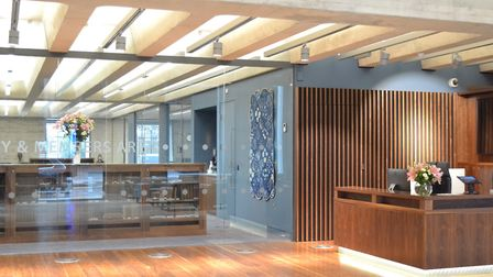 The Royal College of Pathologists' new home in Aldgate. Picture: Bennetts Associates.