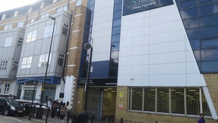 New City group's main campus in Poplar which runs Stepney's Attlee A Level Academy. Picture: Mike Br