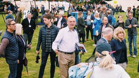 """Last year's Big Ideas festival at Mudchute Farm described by President Macron of France as """"a signif"""