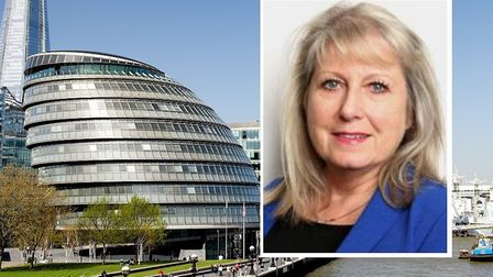 """Assembly member Susan Hall... """"One-in-four sexual assaults on the tube are on the Central line, yet"""