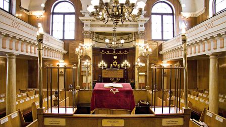 Sandys Row Synagogue is one of the venues involved in Open House London. Picture: Mike Brooke