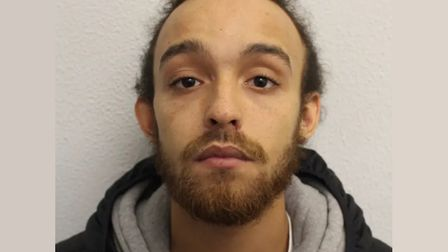 Machete thug Dominic Cummins, 21-year-old from Bow Common, jailed 8 years. Picture: Met Police