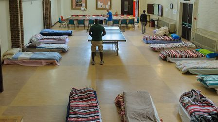 GrowTH is expecting around 150 people to stay in their shelters in the seven months from October. Pi