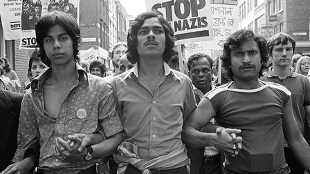 1978... The day Asian community took to the streets around Brick Lane in the battle to stop racist m