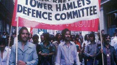 They formed defence groups after Altab Ali's murder on the streets in May 1978. Picture: Azad Konor
